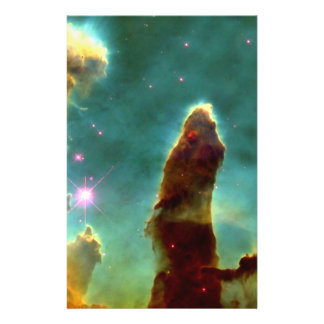 Eagle Nebula Pillars in Beautiful Outerspace Flyer
