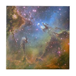 Eagle Nebula Small Square Tile