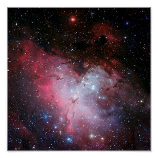 Eagle Nebula Space Astronomy Poster
