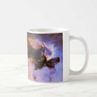 Eagle Nebula Spire Messier 16 NGC 6611 M16 Basic White Mug