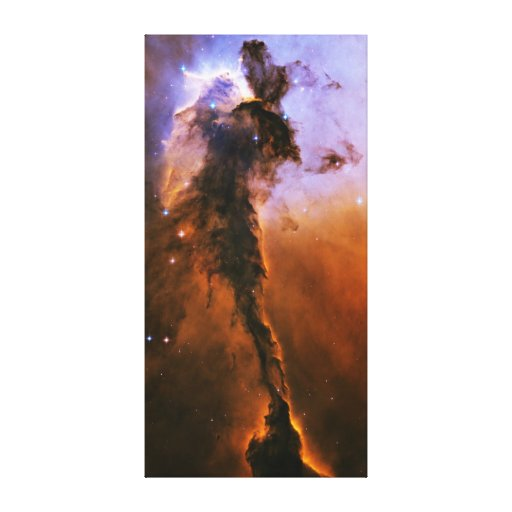 Eagle Nebula Spire Messier 16 NGC 6611 M16 Stretched Canvas Print