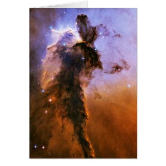 Eagle Nebula Spire Messier 16 NGC 6611 M16 Greeting Card