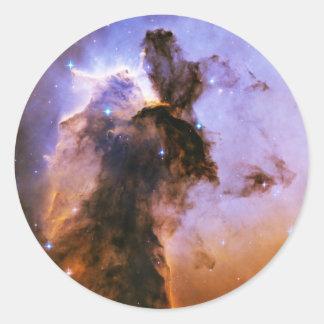 Eagle Nebula Spire Messier 16 NGC 6611 M16 Round Sticker