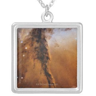 Eagle Nebula star Silver Plated Necklace