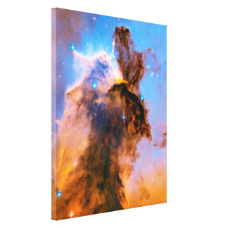 Eagle Nebula Stellar Spire Stretched Canvas Print