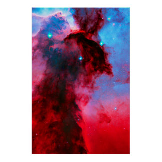 Eagle Nebula Stellar Spires Poster