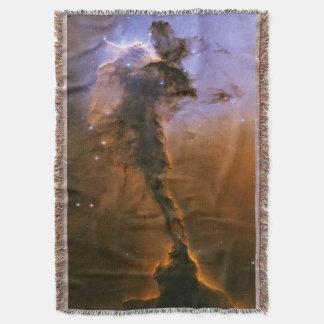Eagle Nebula Woven Throw Blanket