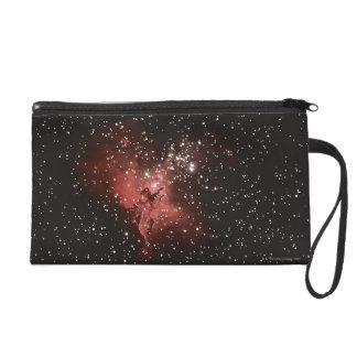 Eagle Nebula Wristlet Clutches