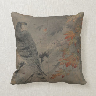 Eagle on a Maple Branch Cushion