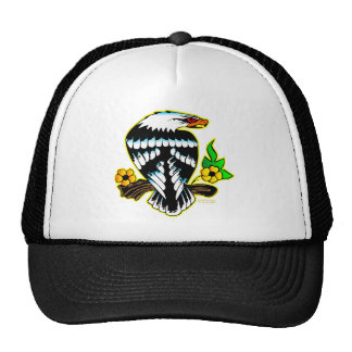 Eagle On Branch Mesh Hats