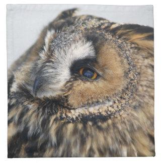 Eagle Owl American MoJo Napkins