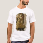 Eagle Owl and Cat with Dead Rats T-Shirt