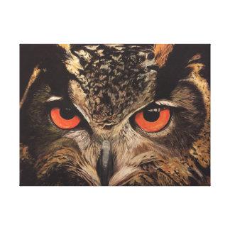 Eagle Owl Canvas