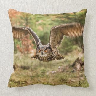 Eagle Owl Cushion