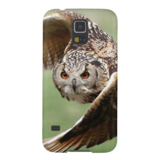 Eagle Owl In Flight Galaxy S5 Cover