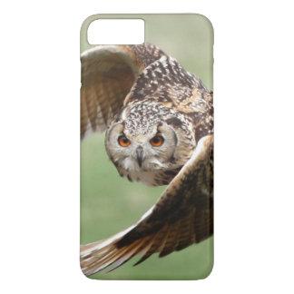 Eagle Owl In Flight iPhone 8 Plus/7 Plus Case