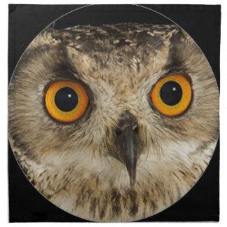 """""""Eagle owl"""" Napkin"""