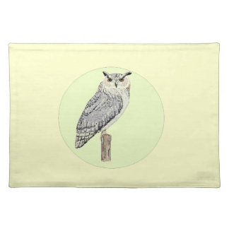 Eagle Owl Place Mats