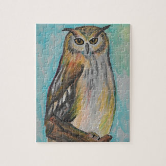 Eagle Owl Puzzle with Gift Box