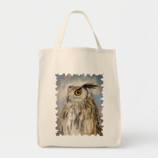 Eagle Owl Wildlife Art