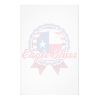 Eagle Pass, TX Stationery Design