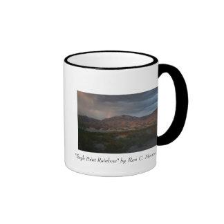 """""""Eagle Point Rainbow"""" Ringer Mug"""