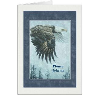 Eagle - Portrait - Award Invitation - Achievement Greeting Card