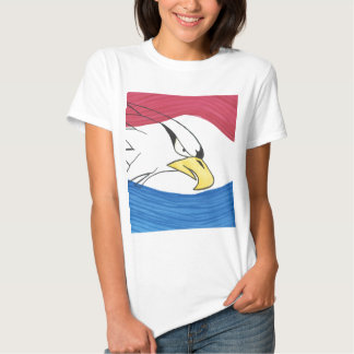 Eagle Red, White, and Blue Baby Doll T-shirt