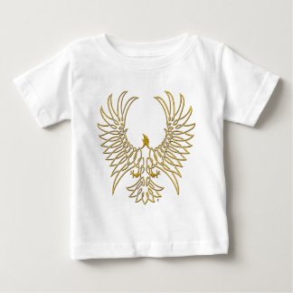 eagle rising, gold baby T-Shirt