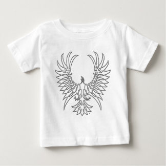 eagle rising, silver baby T-Shirt