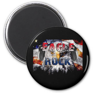 Eagle Rock2 6 Cm Round Magnet