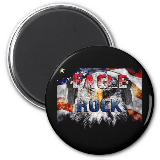 Eagle Rock2 Fridge Magnet