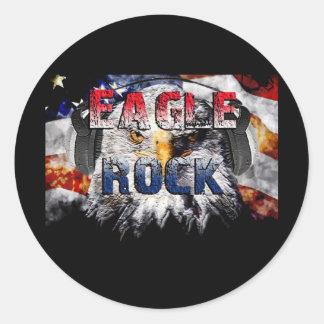 Eagle Rock2 Round Sticker