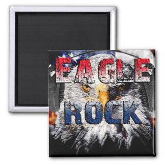 Eagle Rock2 Square Magnet