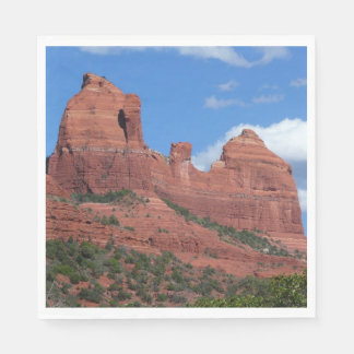Eagle Rock I Sedona Arizona Travel Photography Disposable Serviette