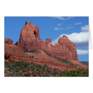 Eagle Rock I Sedona Arizona Travel Photography Greeting Card