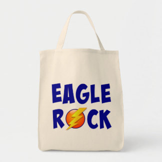 Eagle Rock Lightning Bolt Grocery Tote Bag