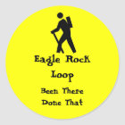 Eagle Rock Loop Arkansas Classic Round Sticker