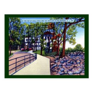 Eagle Rock Pavilion Oranges NJ Vintage Postcard