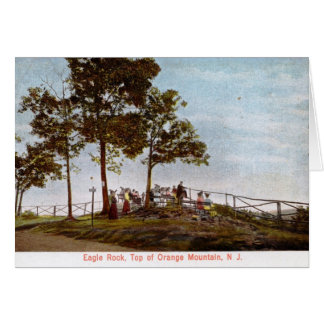 Eagle Rock, Top of Orange Mountain, NJ 1906 Vintag Greeting Card