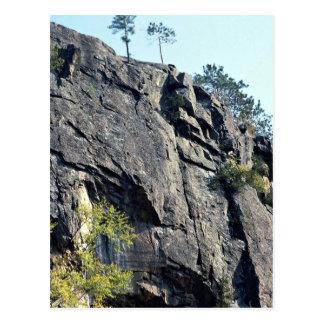 Eagle s nest Bancroft Ontario Canada rock forma Post Card