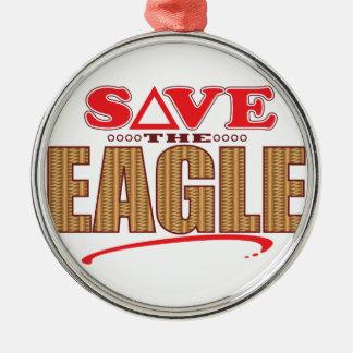 Eagle Save Christmas Ornament