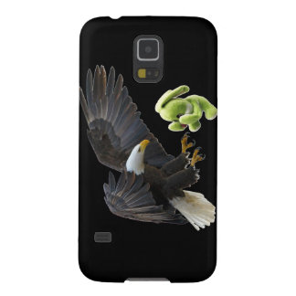 Eagle scares to a teddy galaxy s5 cover
