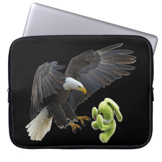 Eagle scares to a teddy laptop computer sleeves