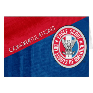 Eagle Scout Congratulation Card