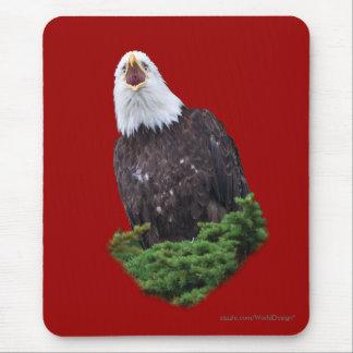 Eagle Screaming Mouse Pad