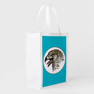 Eagle Screaming Reusable Grocery Bag