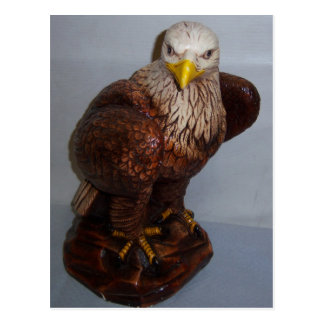 Eagle Sculpture Postcard