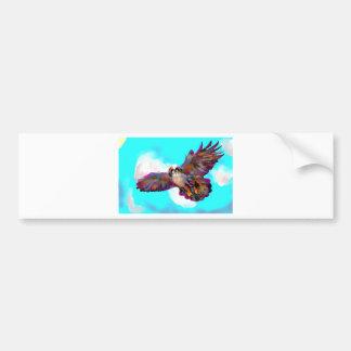 eagle soar pic _equalized.jpg bumper stickers