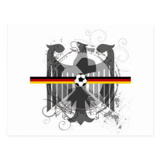 Eagle soccer German fans gifts and T-shirts Postcard